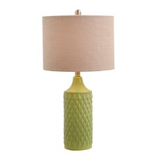 "Melbourne Beach 26.6"" H Table Lamp with Drum Shade"