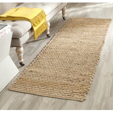 Gilchrist Hand-Woven Beige Area Rug