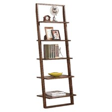 "Kendall-Perrine 72"" Leaning Bookcase"