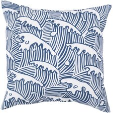 Solana Waves of Grace Outdoor Throw Pillow