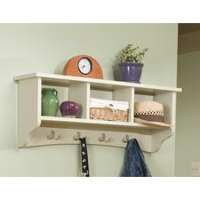 Lely Resort 8 Hook Storage Shelf