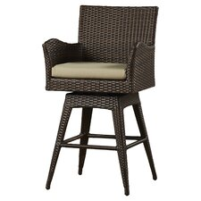 "Weymouth 28"" Wicker Bar Stool"