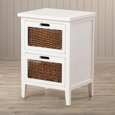 St. Leo 2 Drawer Nightstand