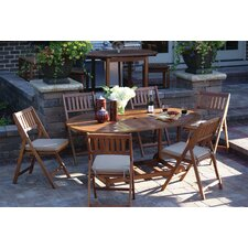 Pinellas 7 Piece Dining Set with Cushions