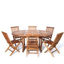 Pleasanton 7 Piece Dining Set