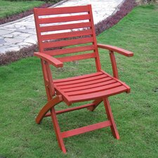 Bristol Folding Arm Chair (Set of 2)