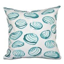 Rocio Clams Geometric Print Throw Pillow