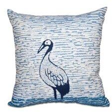 Surrey Bird Outdoor Throw Pillow