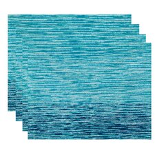 Rocio Ocean View Geometric Print Placemat (Set of 4)