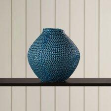 Blue Crater Vase