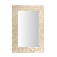 Mirror with Capiz Shell