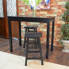 Waquoit 3 Piece Pub Table Set