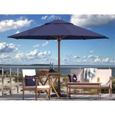 Pleasanton 10' Teak Umbrella