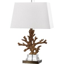"Pitcairn 23.5"" H Table Lamp with Rectangular Shade (Set of 2)"