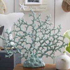 Ryhill Coral Decor in Light Blue