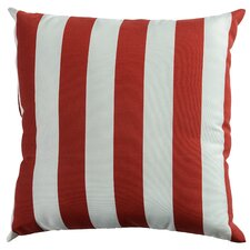 Striped Outdoor Throw Pillow