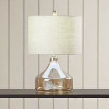 "Four Corners Glass 22"" Table Lamp"