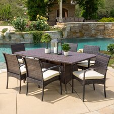 Lakewood Park  7 Piece Dining Set with Cushions