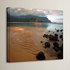 'Hanalei Bay at Dawn' Photographic Print on Wrapped Canvas