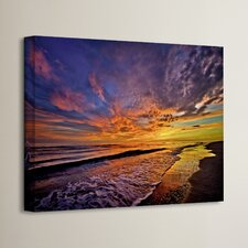 The Sunset by Antonio Raggio Photographic Print on Wrapped Canvas