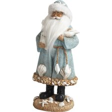 Marilyn Resin Coastal Santa Figurine