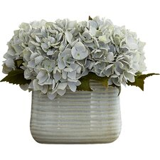 Sea Foam Hydrangea Arrangement