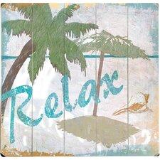 Relax Wall Art