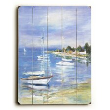 Boats at the Beach Graphic Art