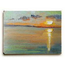 Abstract Sunset Wall Art