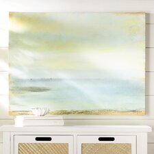 """Marine Sunset"" by Edgar Degas Painting Print on Canvas"