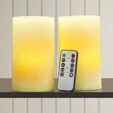 Vanilla LED Flameless Candle - Set of 2 (Set of 2)