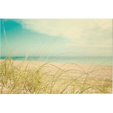 Beach Grass Photographic Print on Wrapped Canvas