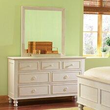 Vassar 7 Drawer Dresser with Mirror