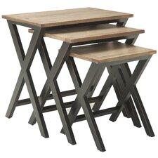 3 Piece Edgecomb Nesting Table Set
