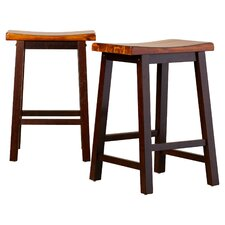 "Holly 24.25"" Bar Stool (Set of 2)"