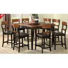 Coaldale Counter Height Extendable Dining Table