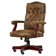 Hebbville High-Back Executive Office Chair with Arms
