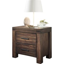 Gibson 2 Drawer Nightstand