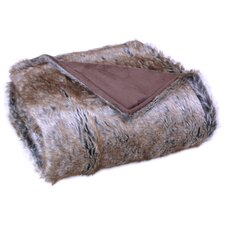 Glazypeau Faux Fur Throw Blanket