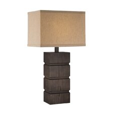 """Wrightson 27.5"""" H Table Lamp with Rectangular Shade"""