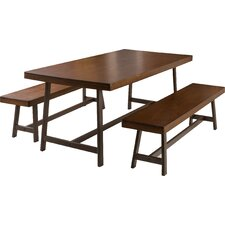 Bassie 3 Piece Dining Set