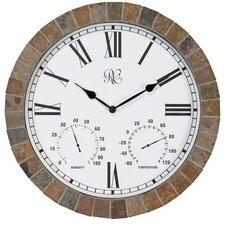 "15"" Tile Wall Clock"