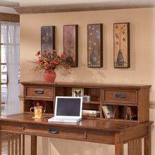 """San Luis 14"""" H x 58"""" W Desk Hutch"""