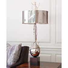 "Wyatt 40"" H Table Lamp with Drum Shade"