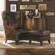 Martin Hill Accent Chair and Ottoman