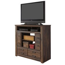 Flattop 4 Drawer Media Chest