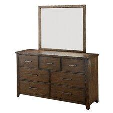 Trenton 7 Drawer Dresser with Mirror