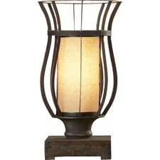 """Razoredge 18"""" H Table Lamp with Drum Shade"""