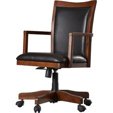 Flagstaff High-Back Executive Office Chair with Arms