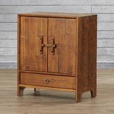 Hayford Dongbei-Style 2 Door Cabinet with Shelf
